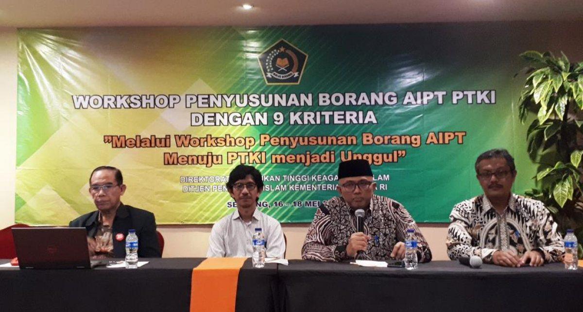 Tahun 2019 Semua PTKI Wajib AIPT, Kemenag Gelar Bimbingan Teknis Penyusunan Borang AIPT