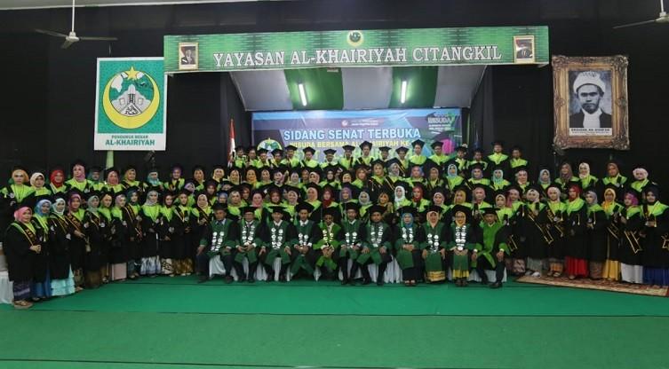 Wisuda 79 Mahasiswa STIT Al-Khairiyah Tahun 2019